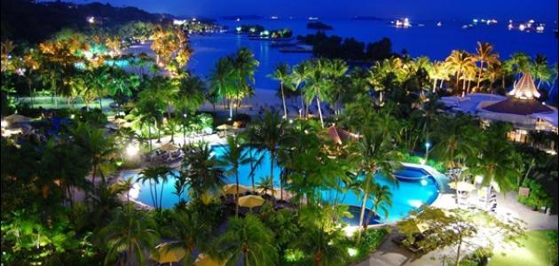 جزيرة سنتوسا بسنغافورة