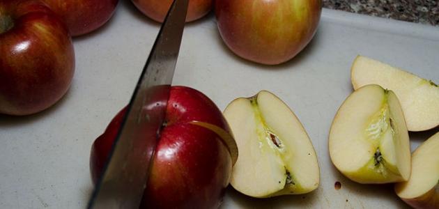 كيف يصنع خل التفاح بالبيت
