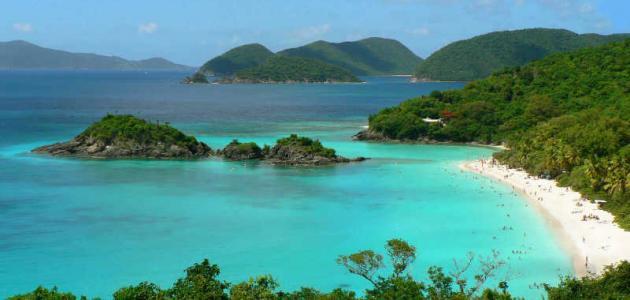 جزيرة في البحر الكاريبي