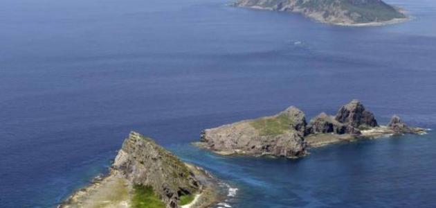 جزيرة في بحر الصين
