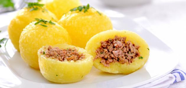 كيفية عمل كبة البطاطا العراقية