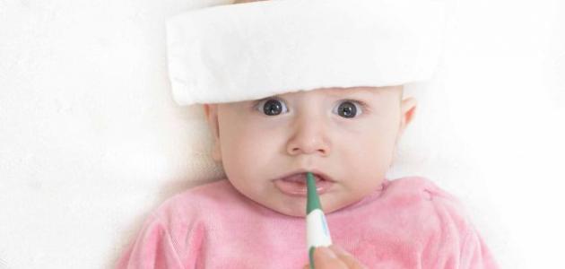 ما هو علاج ارتفاع درجة الحرارة عند الأطفال