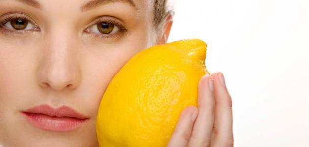 ما هي فائدة الليمون للوجه
