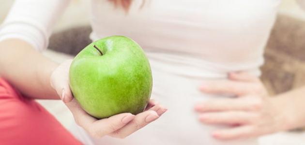 ما فوائد التفاح الأخضر للحامل