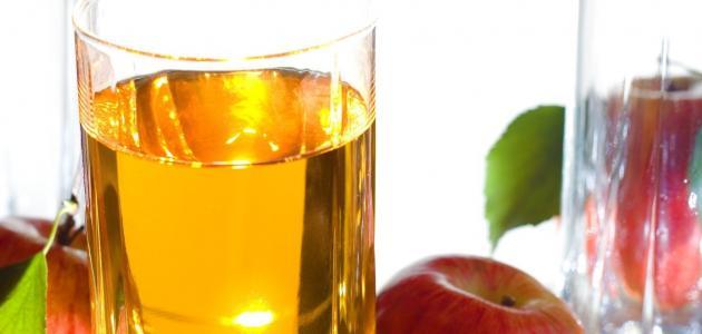 كيفية استخدام خل التفاح لتخسيس البطن