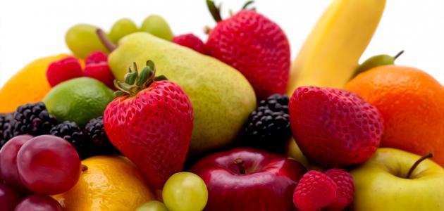موضوع عن فوائد الأطعمة الطازجة