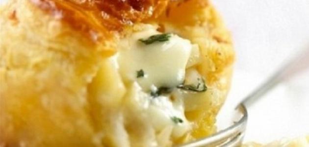 كيفية عمل معجنات بالجبنة