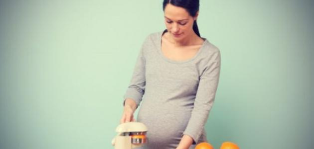 هل فيتامين ج مضر للحامل