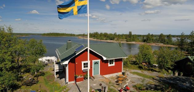ما هي لغة دولة السويد