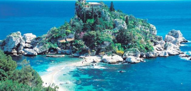 موقع جزيرة صقلية