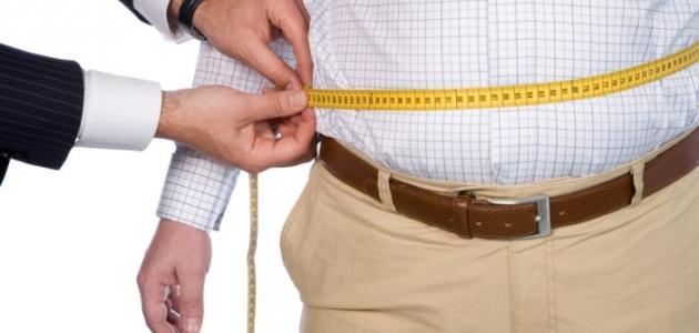 أسباب زيادة الوزن في منطقة البطن