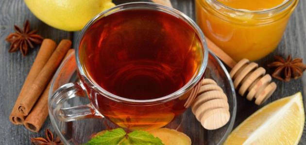 فوائد الشاي الأخضر مع الزنجبيل والقرفة