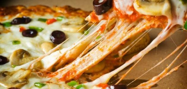 نتيجة بحث الصور عن بيتزا جبنة موزاريلا