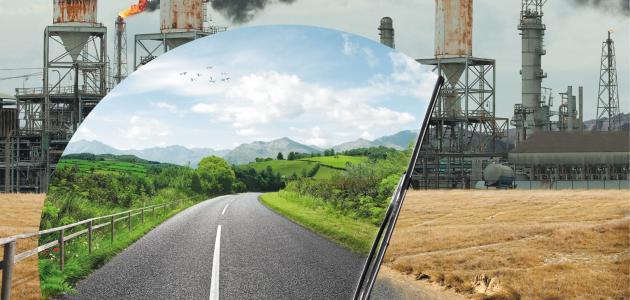 كتابة مقال اجتماعي عن تلوث البيئة