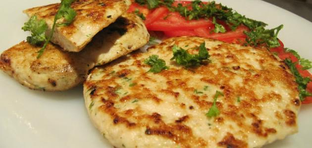 طريقة عمل همبرجر دجاج عراقي