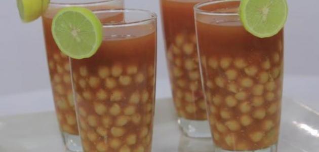 طريقة عمل مشروب حمص الشام المصري