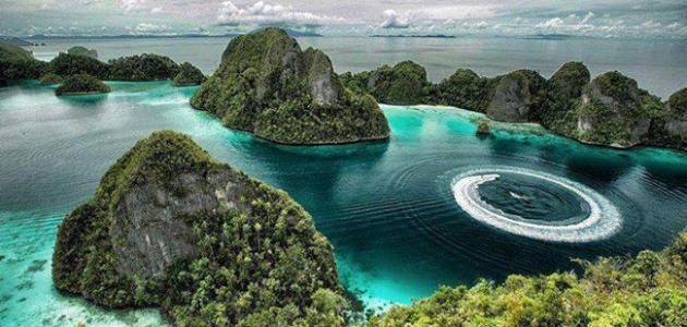 نتيجة بحث الصور عن جزر راجا أمبات