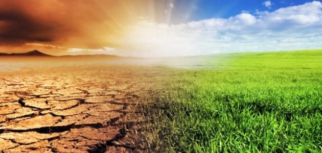 ما هو تغير المناخ