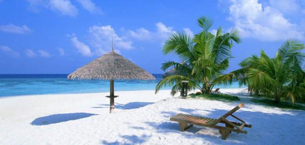 جزر المالديف في المحيط الهندي