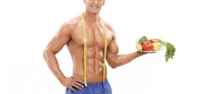 نظام غذائي لجسم رياضي