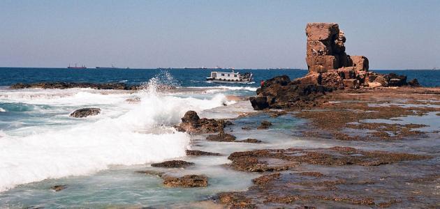 جزيرة أرواد في سوريا