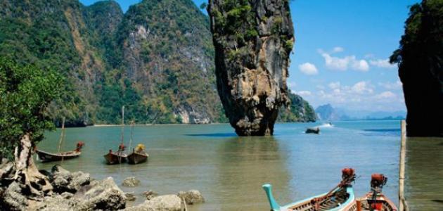 جزر سياحية في تايلند
