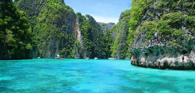 جزر الصين السياحية