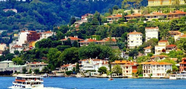 جزر سياحية في تركيا