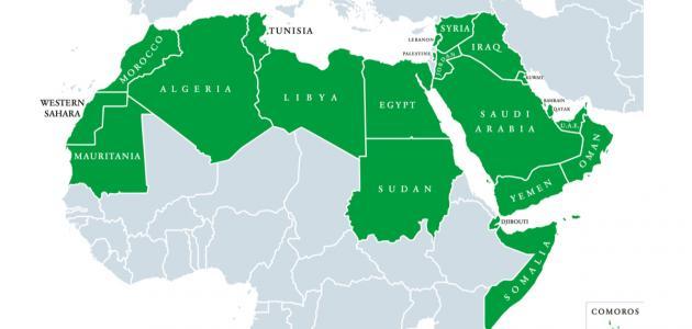 عدد الدول العربية الأفريقية