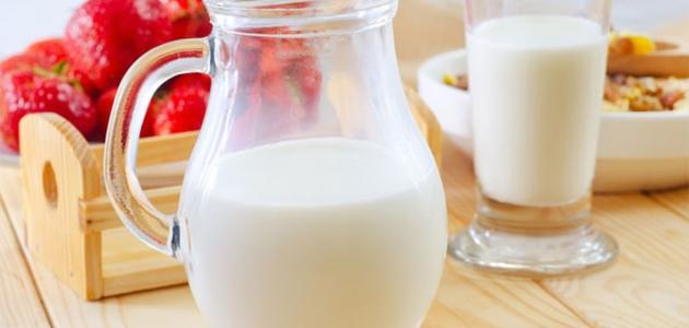 هل الحليب مفيد للقولون