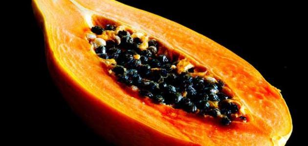 ثمرة البابايا وفوائدها للبشرة