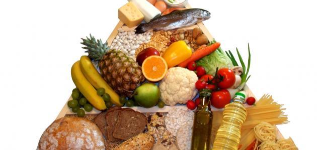 مفهوم الغذاء الصحي