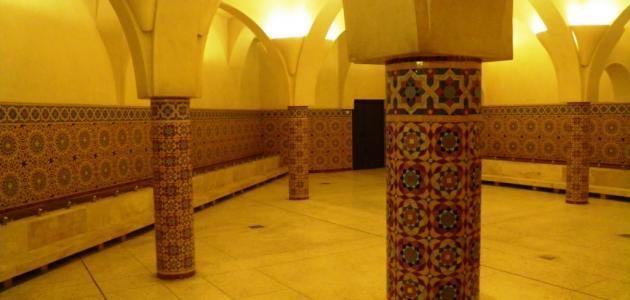 هل يضر الحمام المغربي للحامل
