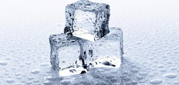درجة حرارة تجمد الماء