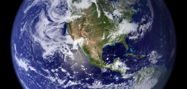 مكونات كوكب الأرض