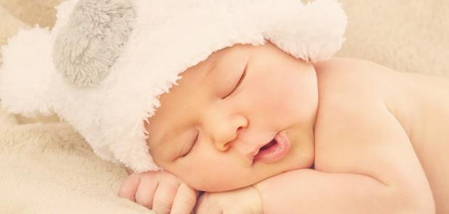 عدد ساعات النوم للرضيع