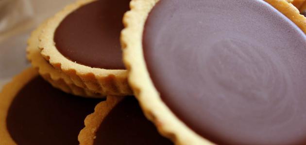 طريقة تارت الشوكولاتة