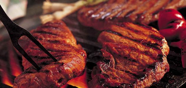 طريقة ستيك اللحم المشوي