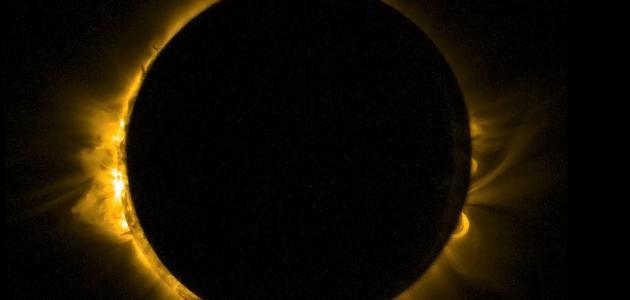 ما هو كسوف الشمس