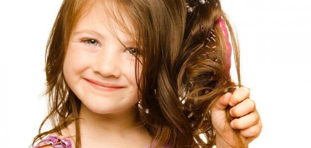 طريقة تنعيم شعر الأطفال الخشن