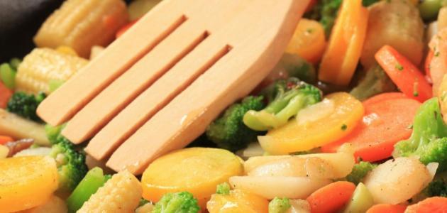 طريقة طبخ الخضار