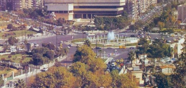 وصف مدينة دمشق