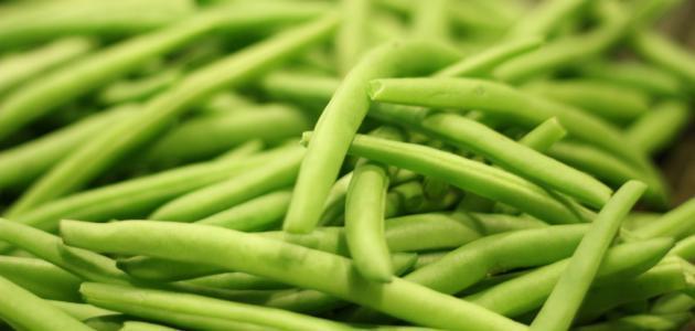 طريقة تجميد الفاصولياء الخضراء