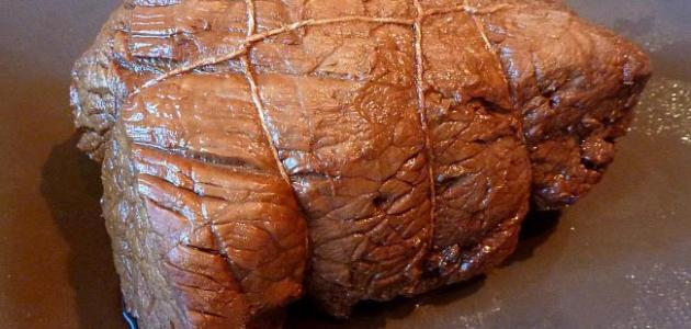 طريقة طبخ اللحم المسلوق