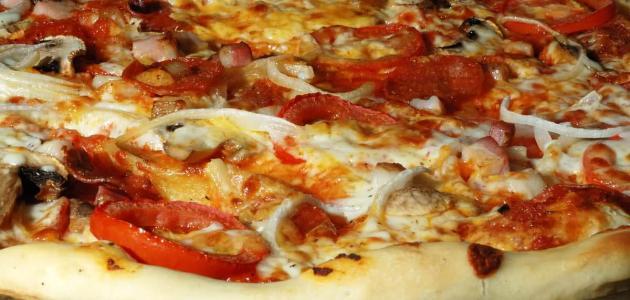 طريقة عمل فطيرة البيتزا الشرقية