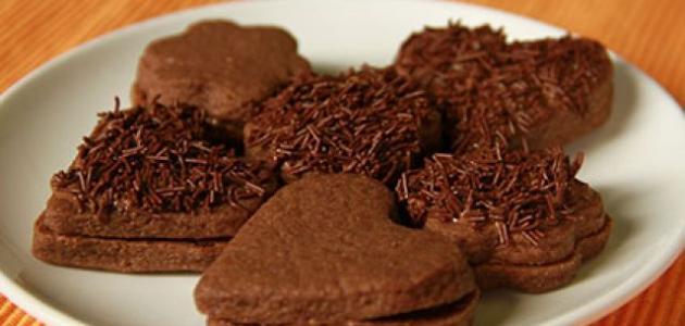 طريقة عمل البيتي فور بالشوكولاتة