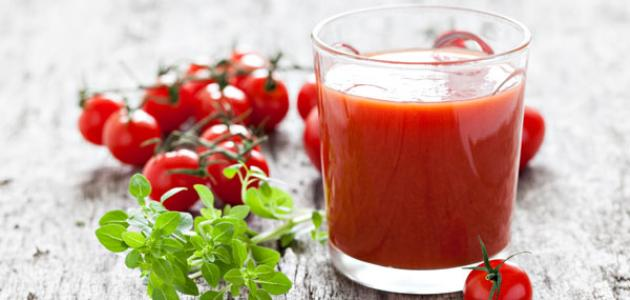طريقة عمل عصير الطماطم للرجيم