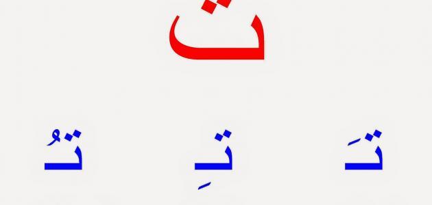 التشكيل في اللغة العربية
