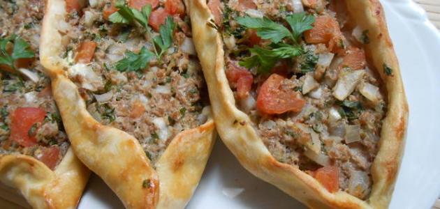 طريقة عمل صفيحة اللحم التركية