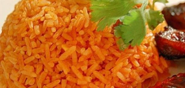 طريقة الأرز الأحمر